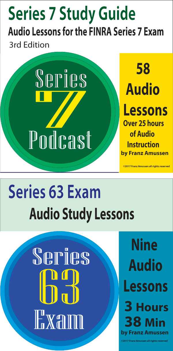 Series 7 and Series 63 Audio Lessons