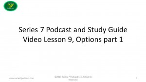 Series 7 Podcast Video Episode Options Part 1