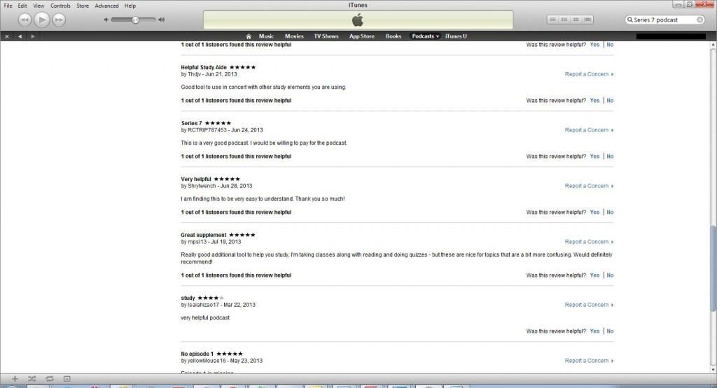 Itunes Reviews 2