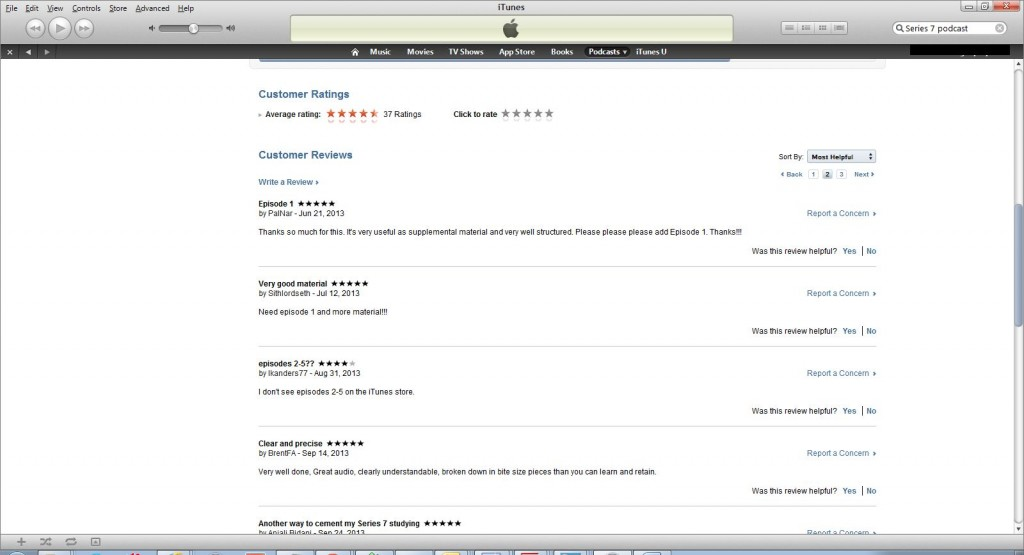 Itunes Reviews 3