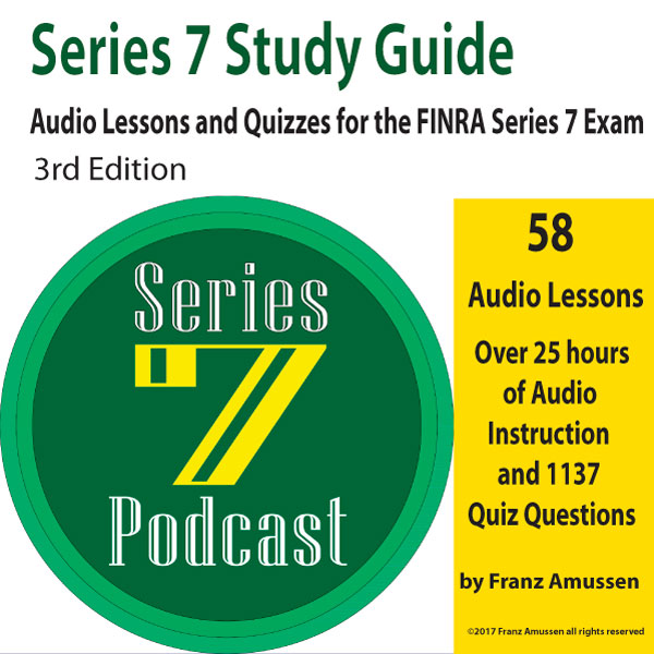 Series 7 Exam Audio Lessons and Quizzes